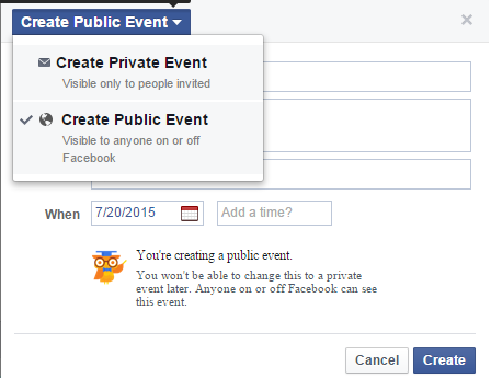 How To Create An Event Page On Facebook