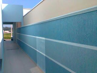 Pintor em Belo Horizonte -  Textura na cor azul