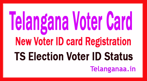 Telangana TS New Voter Id Card Apply User Manual