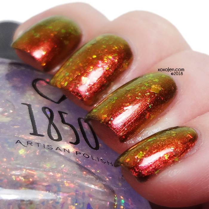 xoxoJen's swatch of 1850 Lion's Mane Jelly