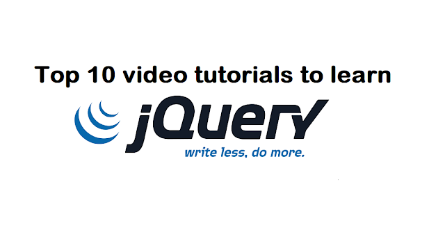 Top 10 best jQuery video tutorials