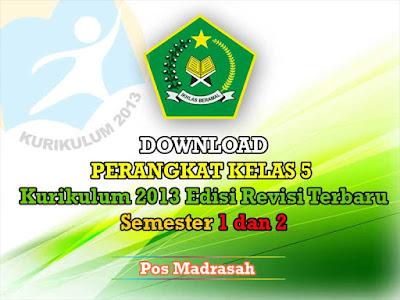 Alhamdulillah pada saat ini admin pos madrasah masih bisa berbagi perangkat pembelajaran  Geveducation:  Perangkat Pembelajaran Kelas 5 Kurikulum 2013 Revisi 2018 SD/MI Lengkap