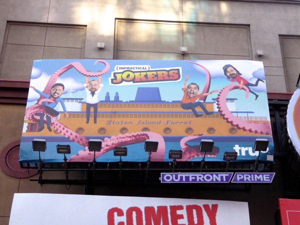 Impractical Jokers season 5 billboard NYC