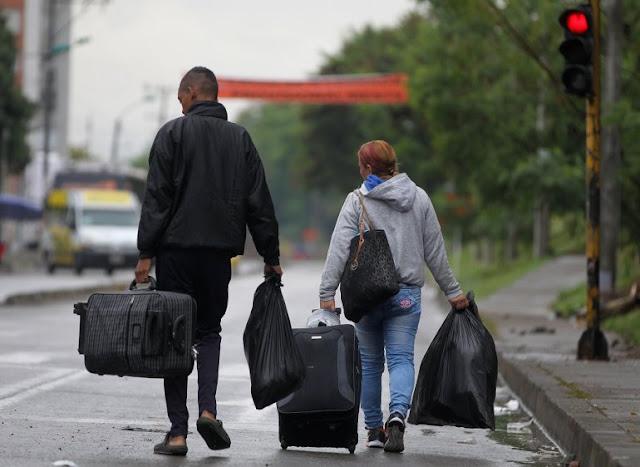 Más de 5.000 personas dejan Venezuela cada día con destino a países vecinos.