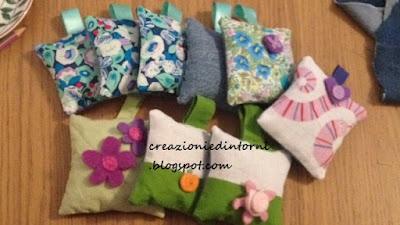 petits sachets à la lavande pour parfumer armoires et tiroirs