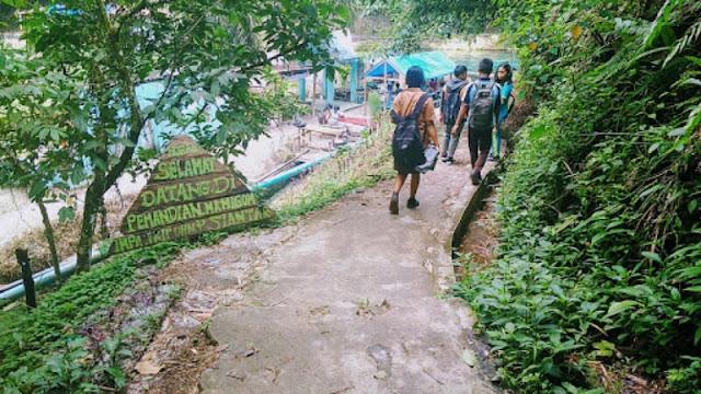Wisata, Pemandian Manigom, Ada Pesan Moral Bagi Pengunjungnya
