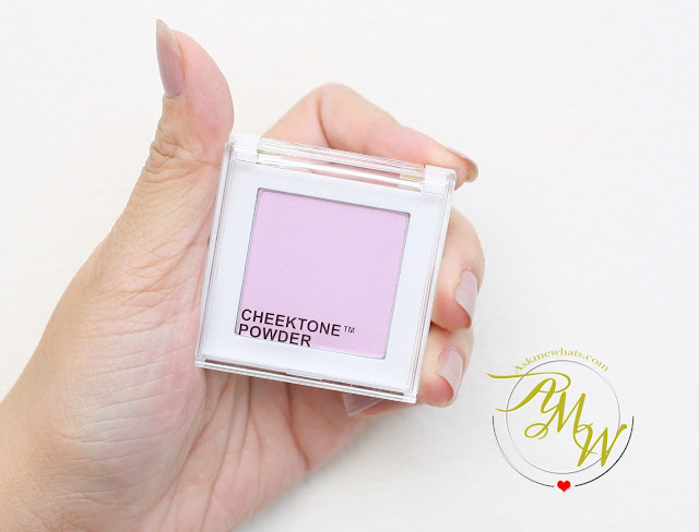 a photo of Tony Moly Cheektone Powder review in shade P01