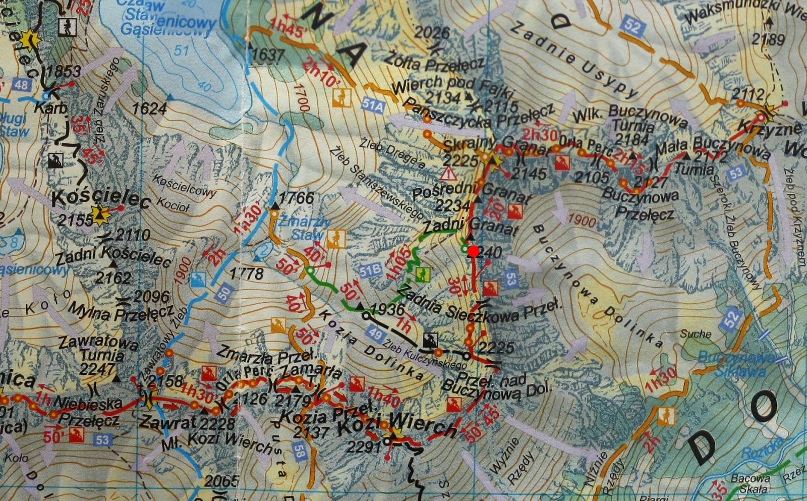 Sieczkowa Szczerba na mapie