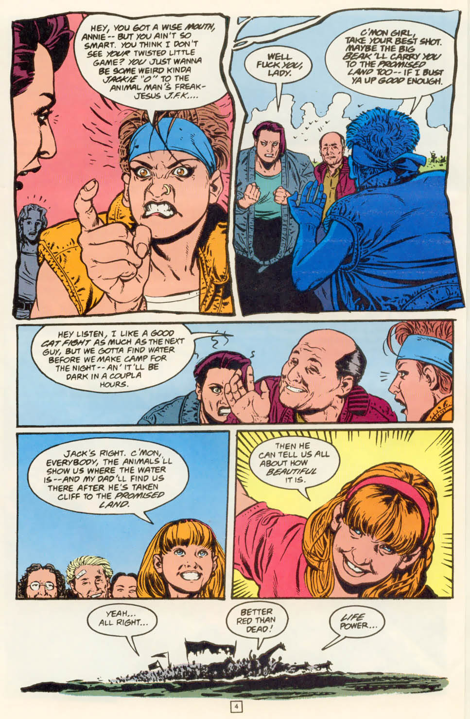 Read online Animal Man (1988) comic -  Issue #78 - 5