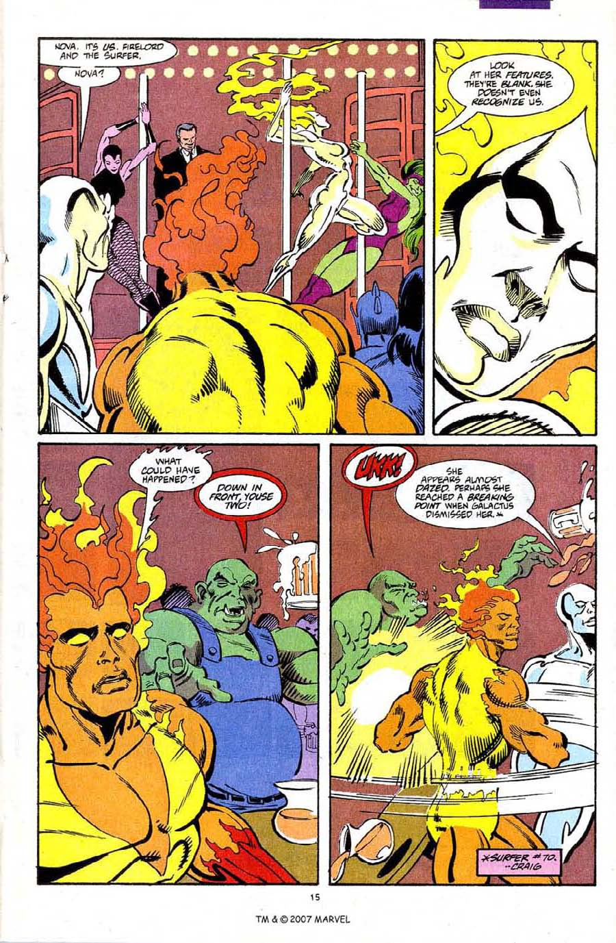Read online Silver Surfer (1987) comic -  Issue #72 - 17