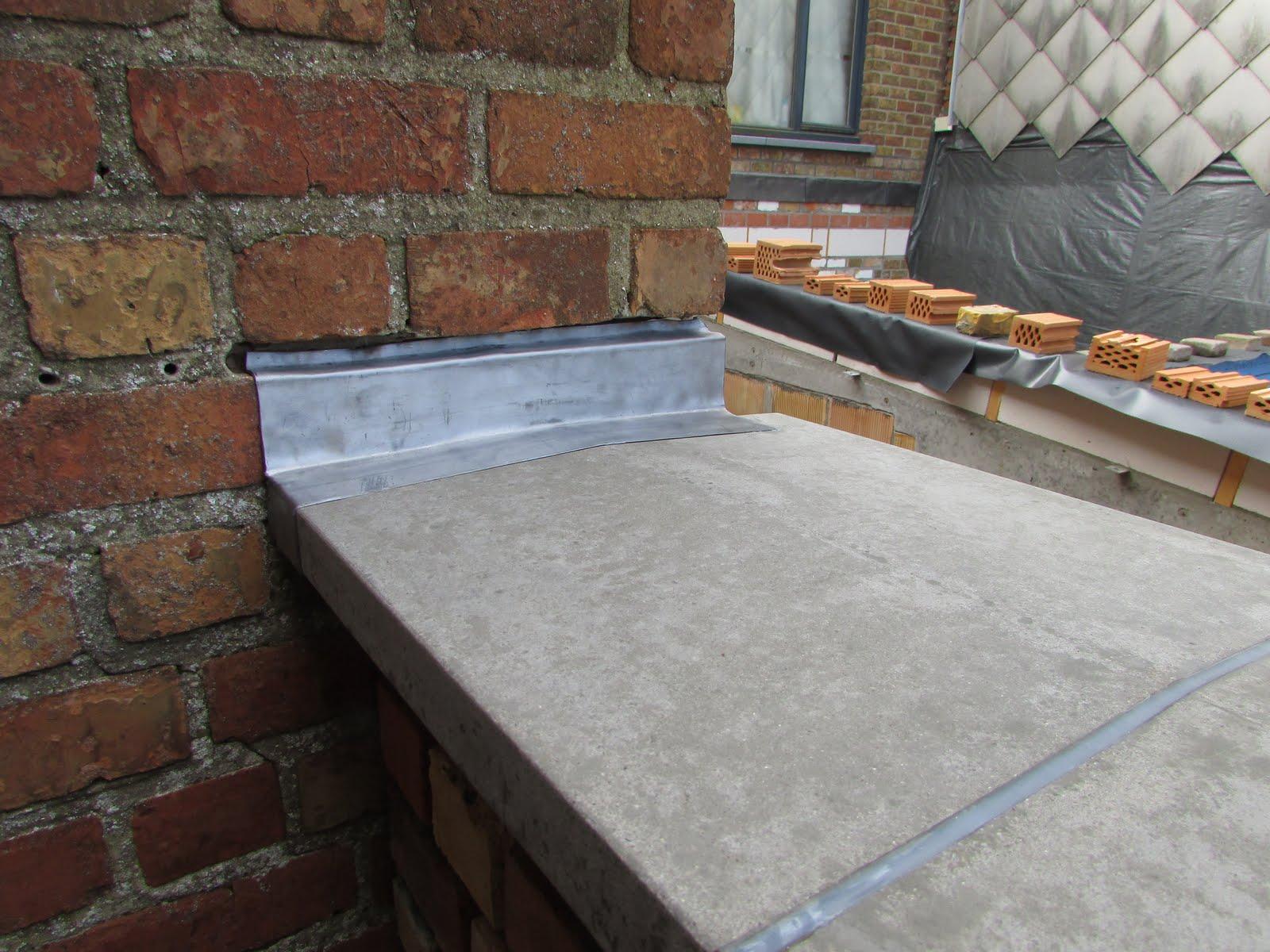 Verbouwing van ons ouderlijk huis ruwbouw uitbreiding 38 - Waterdicht wax beton ...