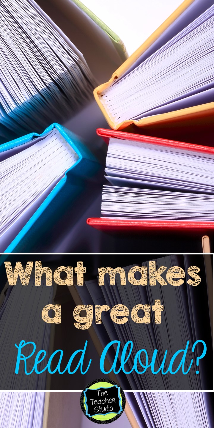 What Makes A Great Read Aloud The Teacher Studio Learning
