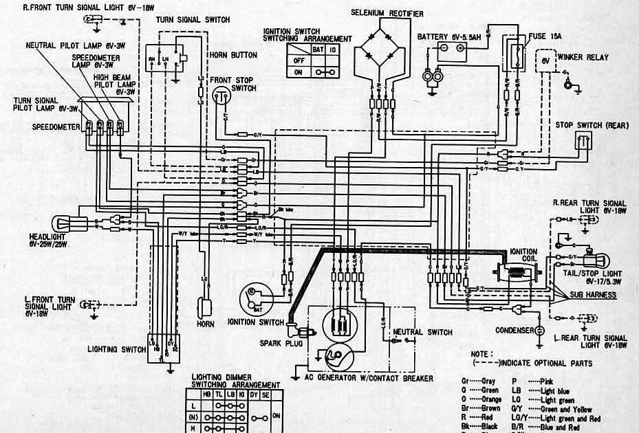 Honda Ca95 Wiring - Wiring Diagram Detailed