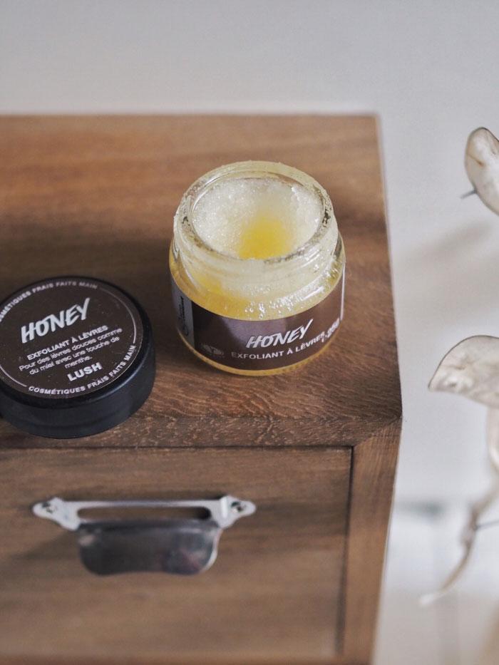 Exfoliant pour les lèvres au miel de la marque Lush