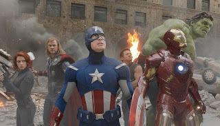 The Avengers 2012 Marvel superhero movie