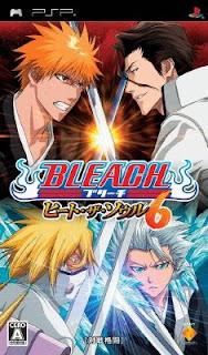 Bleach Heat The Soul 6 (USA) PSP ISO