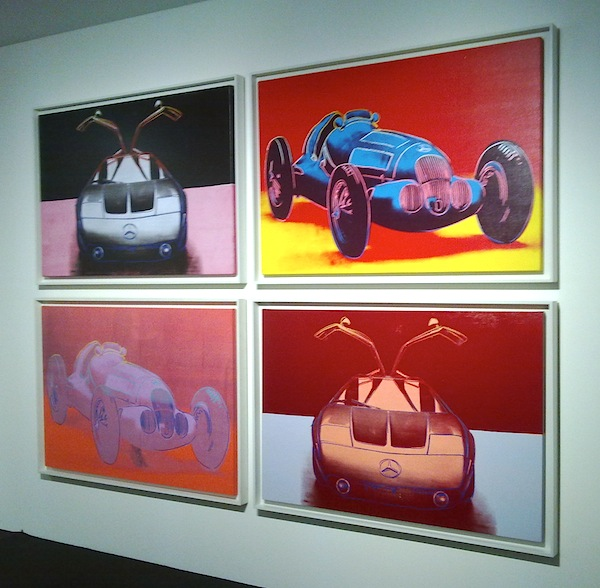 Novecento mai visto - Brescia - Daimler Art Collection - Andy Warhol, Cars, 1986