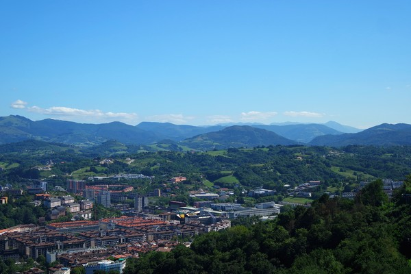 espagne pays basque san sebastian mont igeldo