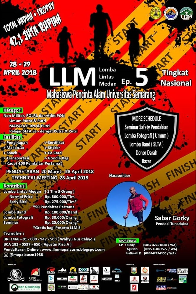 Lomba Lintas Medan 5 • 2018