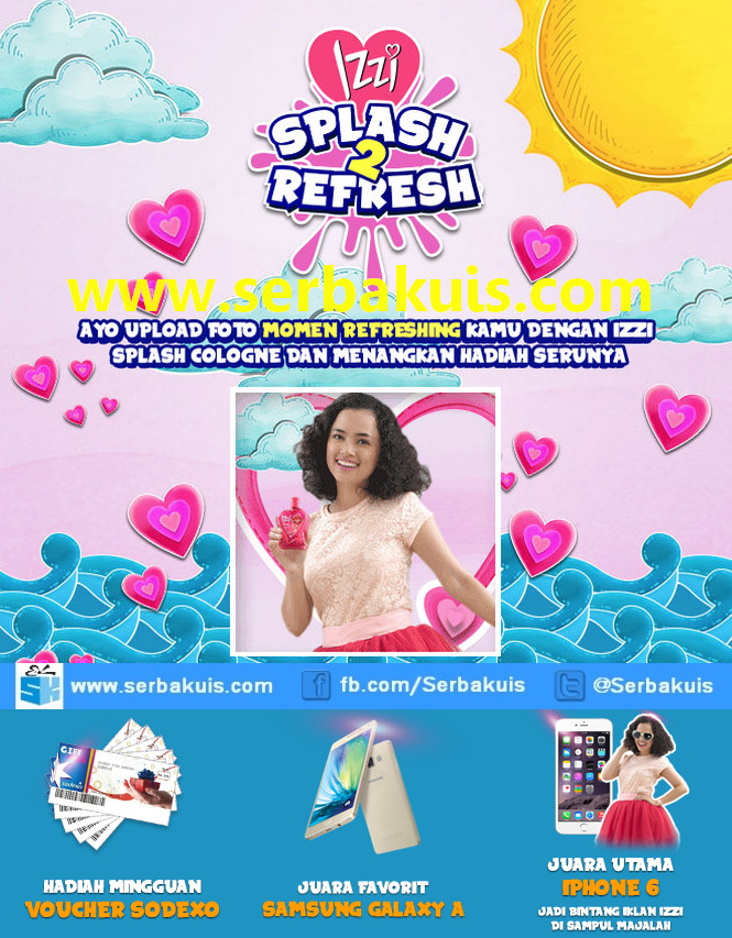 Kontes Foto Izzi Splash 2 Refresh Berhadiah iPhone 6
