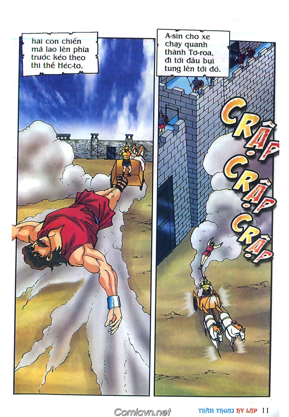 Thần Thoại Hy Lạp Màu - Chapter 62: Hector tử trận - Pic 11