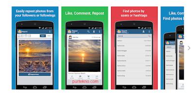 Aplikasi Repost Instagram di Android