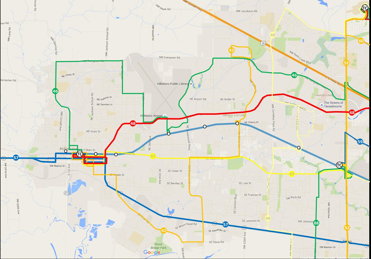 Transit Rider PDX: Top 10 Service Improvements // #1 - Hillsboro