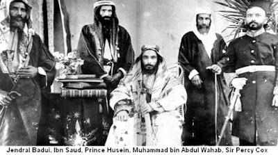 GILA !!! Raja wahabi serahkan tanah palestina ke inggris dan yahudi1