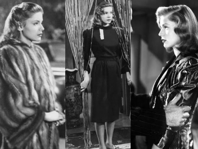 Lauren Bacall the big sleep cloths