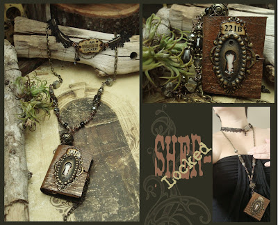 wearable book jewelry
