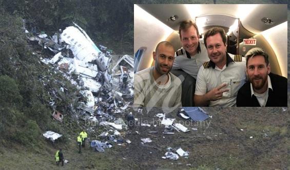 Allahu Akbar.. Gambar Terkini Pesawat Bawa Pasuka Brazil Terhempas Dijumpai.. 76 Orang Maut... Lihat Gambar Terakhir Messi Di Dalam Pesawat.. Amat Menyedihkan...