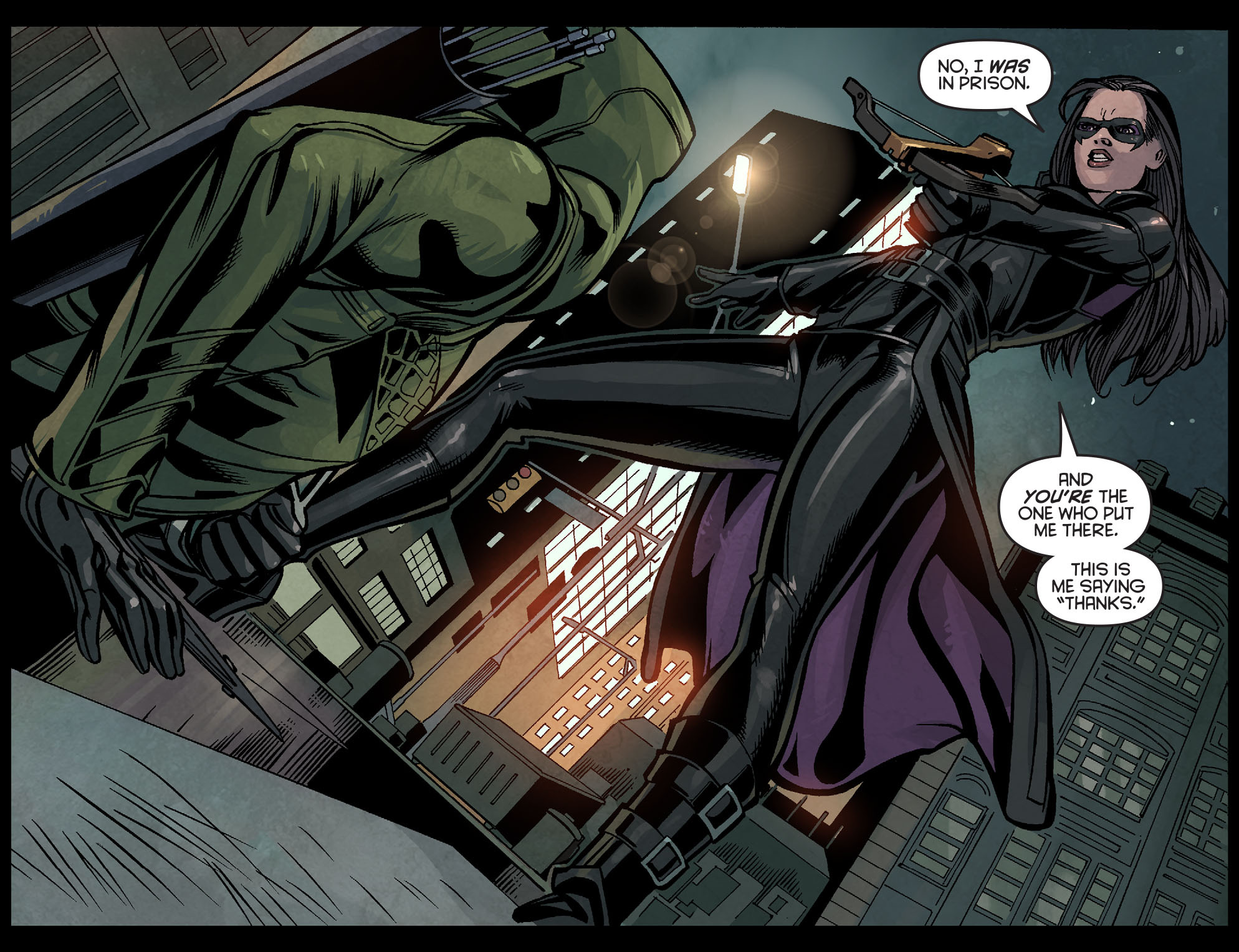 Read online Arrow: Season 2.5 [I] comic -  Issue #7 - 3