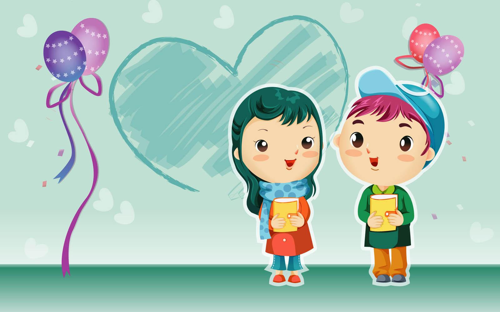 Gambar romantis lucu kartun