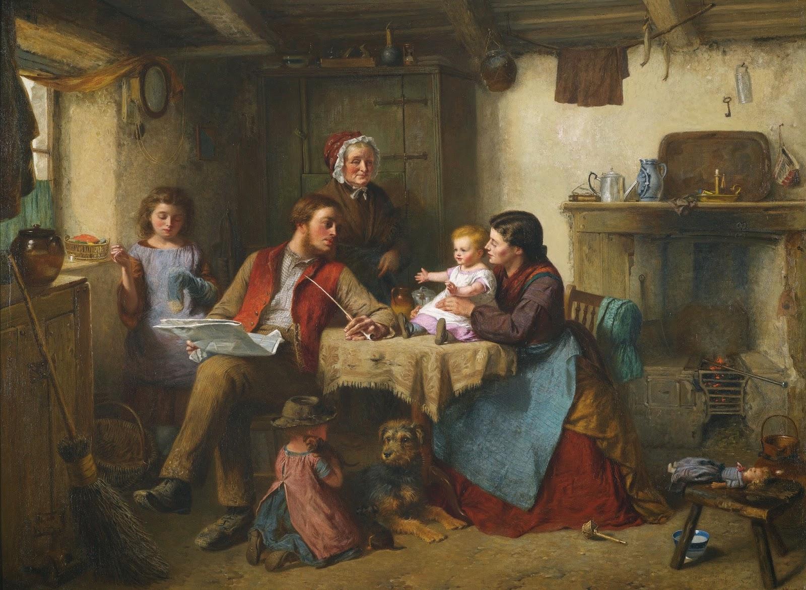 Victorian British Painting Pot Pourri
