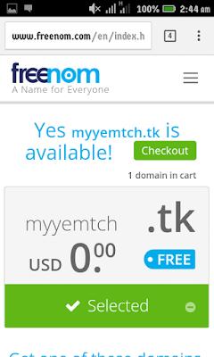 freenom-domain