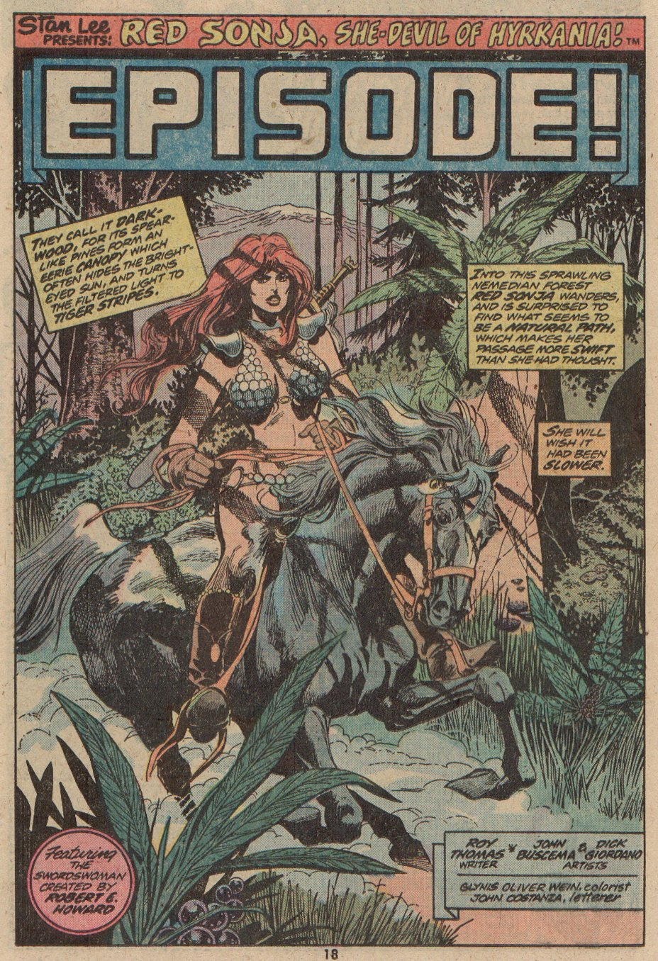 Conan the Barbarian (1970) 48 Page 11