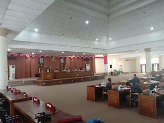 Eksekutif Sampaikan Nota RAPBD 2019, Pada Rapat Paripurna DPRD OI