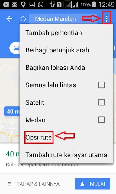 Cara Menggunakan Fitur Rute Baru Khusus Pengendara Motor Di Google Maps