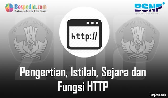 Pengertian, Istilah, Sejara dan Fungsi HTTP Beserta dengan Cara Kerjanya