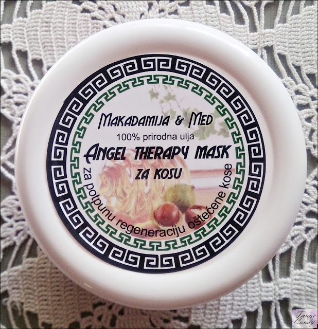 Angel Therapy maska za kosu sa uljem makadamije i medom