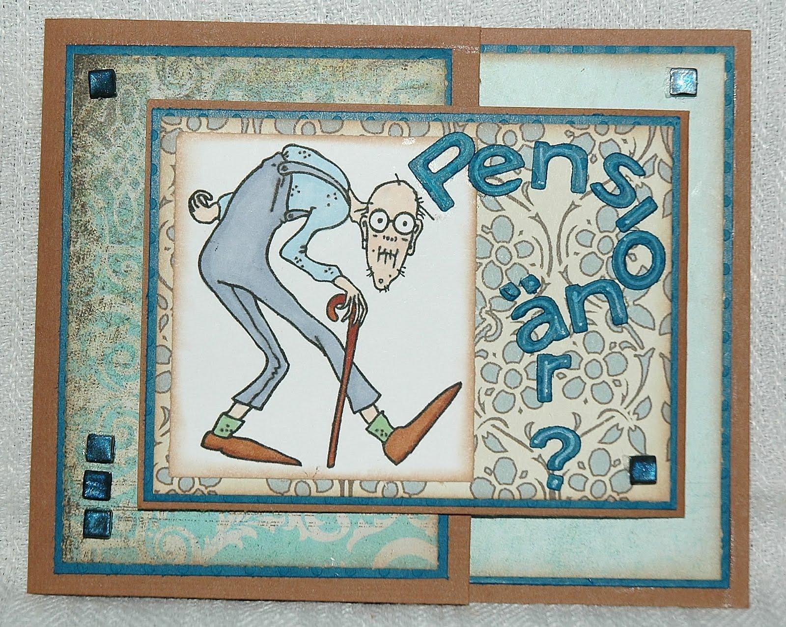 gratulationskort till pensionär Lottas vrå: juli 2011 gratulationskort till pensionär