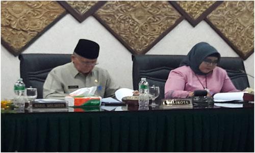 DPRD Kota Padang, Tutup Masa Sidang Kedua Tahun 2018