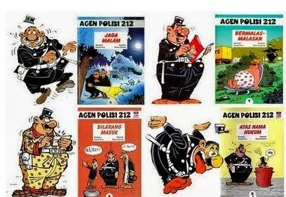 Komik Lucu Agen Polisi 212
