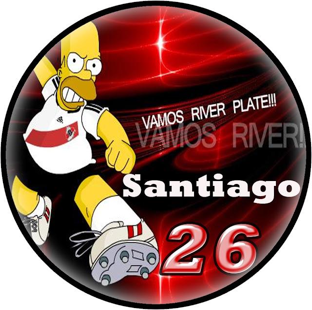 fb3ea804d Carteles De Cumpleaños De River Plate