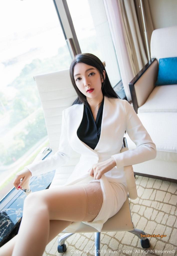XIUREN No.1209 Xiao Reba Angela MrCong.com 022 wm - XIUREN No.1209: Người mẫu Xiao Reba (Angela小热巴) (52 ảnh)