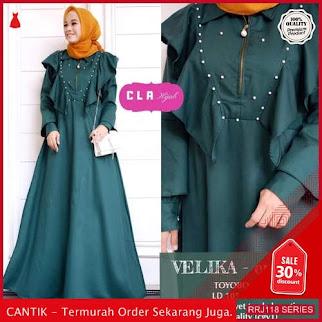 Jual RRJ118D150 Dress Velika Dress Wanita Wd Terbaru Trendy BMGShop