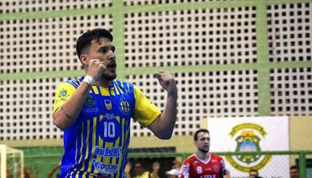 Horizonte encara o Educar-SE por vaga nas semifinais da Copa do Nordeste de Futsal.