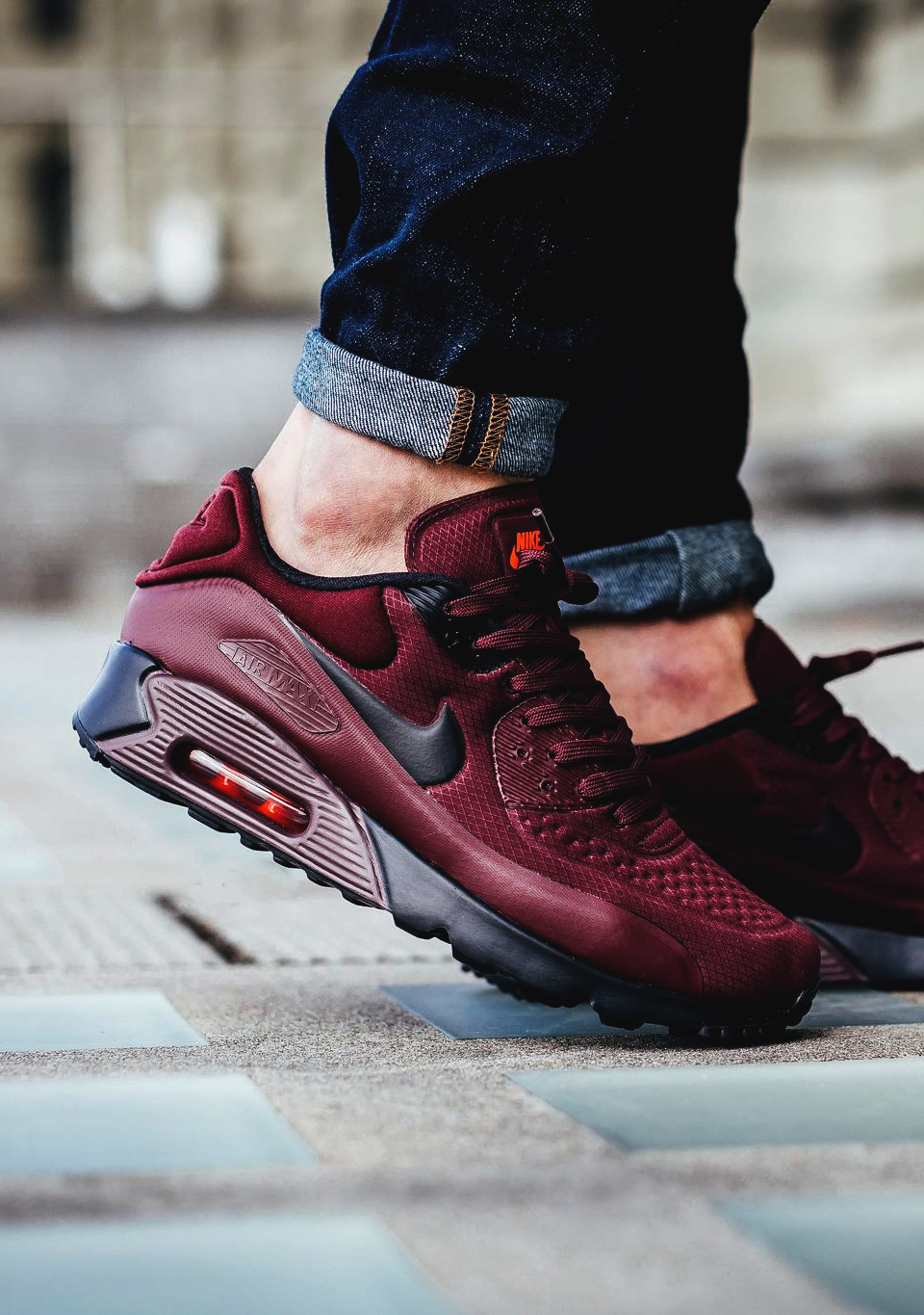 Adidas Air Max 90 Ultra Se Night Maroon Adidas F3f896