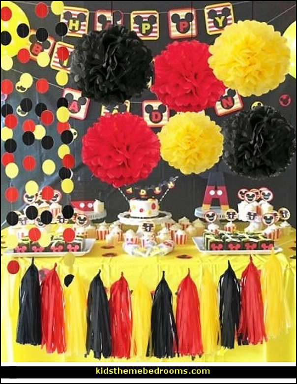 Party Decorations Mickey Mouse Theme