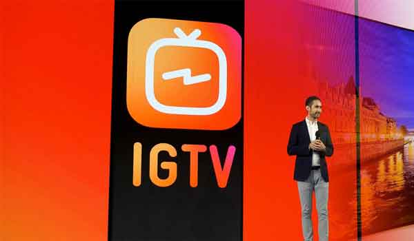 IGTV Instagram videos de hasta 60 minutos